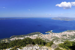City Makarska Stock Photography