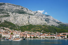 City of Makarska Stock Images