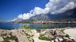 City Makarska Stock Image