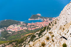 City of Makarska Royalty Free Stock Photography