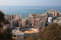 City of Malaga, Andalusia Spain Royalty Free Stock Image