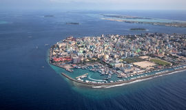 City of Male in Maldives region Stock Image
