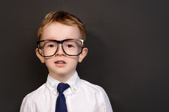 City man kid Stock Photo
