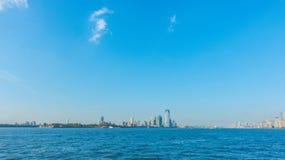 city manhattan new skyline york ΗΠΑ Στοκ φωτογραφίες με δικαίωμα ελεύθερης χρήσης