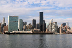 city manhattan new skyline york Στοκ Εικόνες