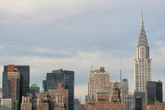city manhattan new skyline york Στοκ εικόνες με δικαίωμα ελεύθερης χρήσης