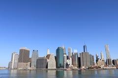 city manhattan new skyline york Στοκ φωτογραφία με δικαίωμα ελεύθερης χρήσης