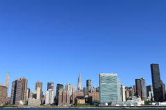 city manhattan new skyline york Στοκ Εικόνα