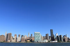 city manhattan new skyline york Στοκ Φωτογραφία