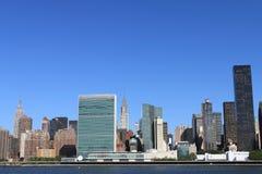 city manhattan new skyline york Στοκ φωτογραφίες με δικαίωμα ελεύθερης χρήσης