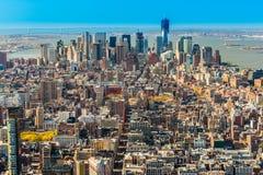 city manhattan new york ΗΠΑ Στοκ εικόνες με δικαίωμα ελεύθερης χρήσης