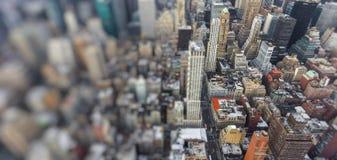 city manhattan new york ΗΠΑ Στοκ Εικόνες