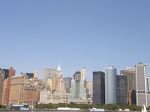 city manhattan new york Στοκ Φωτογραφίες