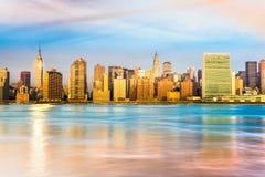 city manhattan new york ΗΠΑ Στοκ φωτογραφίες με δικαίωμα ελεύθερης χρήσης