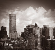 city manhattan new york Στοκ Εικόνες