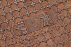 City manhole covers Royalty Free Stock Image