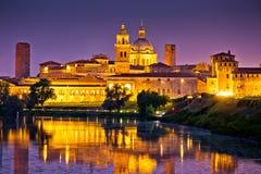 City of Mantova skyline evening view Royalty Free Stock Photos
