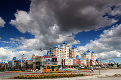 City manzhouli Royalty Free Stock Photography