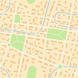 City map Royalty Free Stock Photo