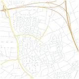 City map Royalty Free Stock Photos