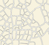 vector city map Royalty Free Stock Photo
