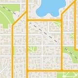 City map background. Stock Image