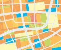 City map Stock Photos