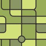 City map seamless pattern Royalty Free Stock Photo