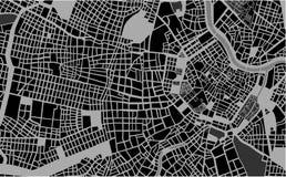 City Map of Vienna, Austria Stock Photos