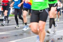 City marathon Royalty Free Stock Photography