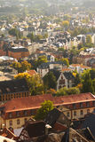 The City of Marburg, Germany stock image