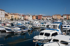 City marina in Rovinj Royalty Free Stock Image