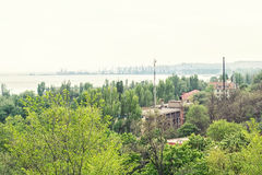 City Mariupol Royalty Free Stock Image