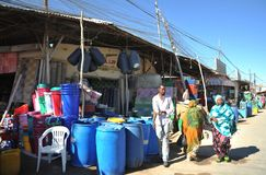 The city market of Hargeysa. Royalty Free Stock Photography