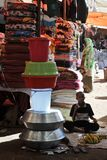 The city market of Hargeysa. Stock Photo