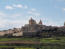 City of Mdina, Malta Royalty Free Stock Photography