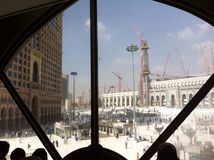 City of Mecca. Mecca Mosque Under Royalty Free Stock Photos