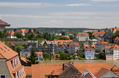 The city of Meissen. View of the Elbe river Royalty Free Stock Photos