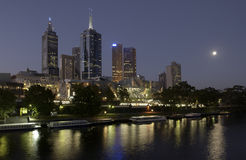 City of Melbourne in Australia. The City of Melbourne in the state of Victoria in southern Australia Stock Photos