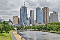 City of Melbourne Royalty Free Stock Photography