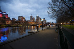 City of Melbourne Australia Stock Images