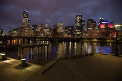 City of Melbourne Australia Royalty Free Stock Images
