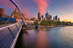 City of Melbourne. Royalty Free Stock Photo