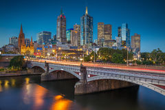 City of Melbourne. Royalty Free Stock Image