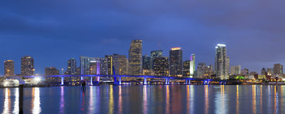 City of Miami. Royalty Free Stock Photo