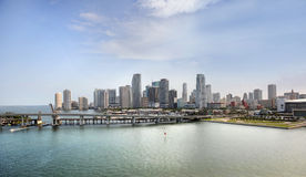 City of Miami Beach Stock Image