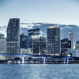 CIty of Miami Florida Royalty Free Stock Photo