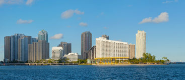 City of Miami, Florida downtown panorama Royalty Free Stock Image
