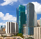 City of Miami Florida, summer panorama Royalty Free Stock Photo