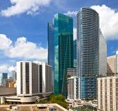 City of Miami Florida, summer panorama Royalty Free Stock Photo